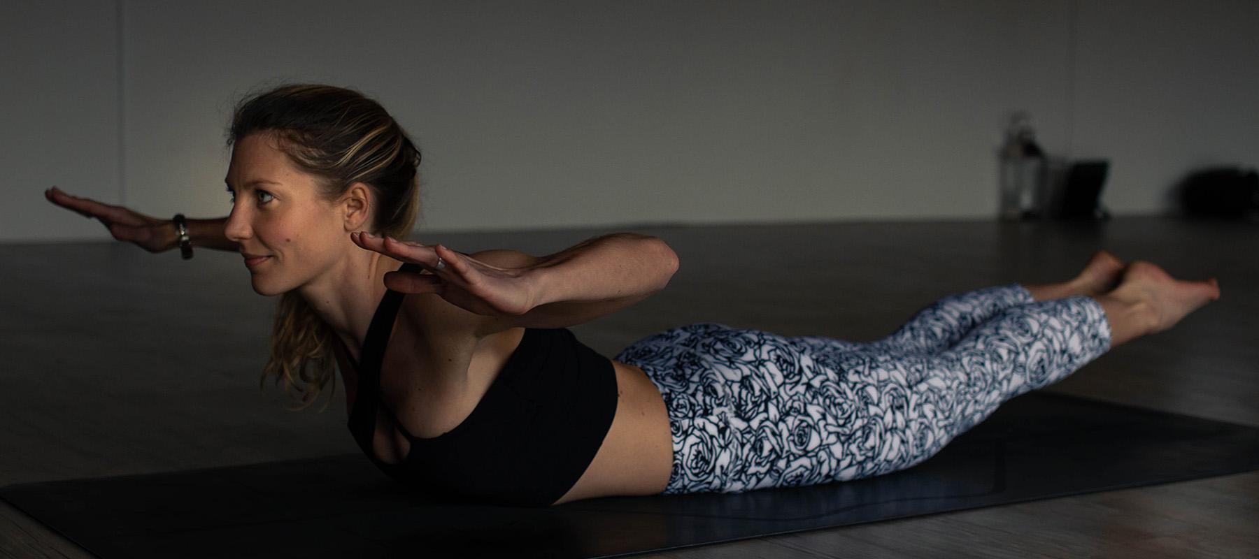 Helen Clare back bending yoga